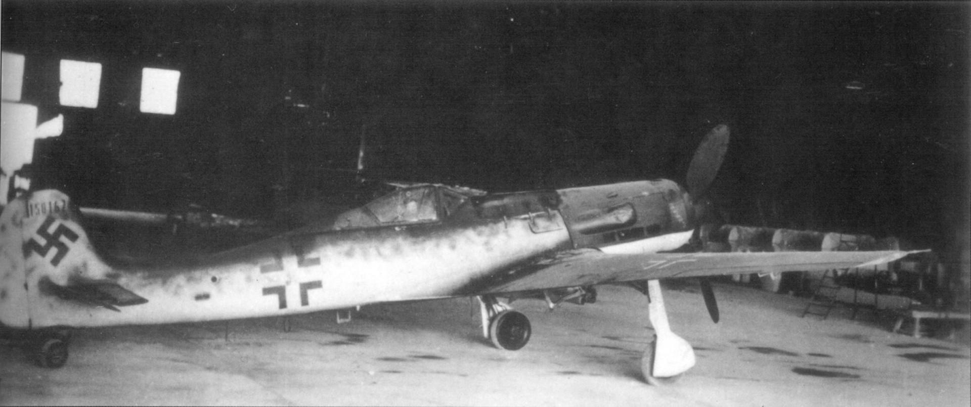 Ta-152 H-1 in Cottbus Werk Nr. 150 167