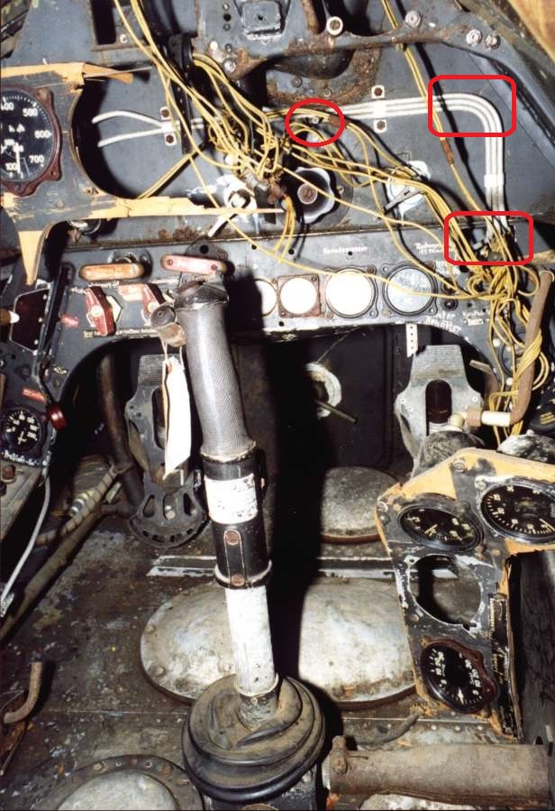 Ausgleichleitung Ta_152_H-0 Cockpit